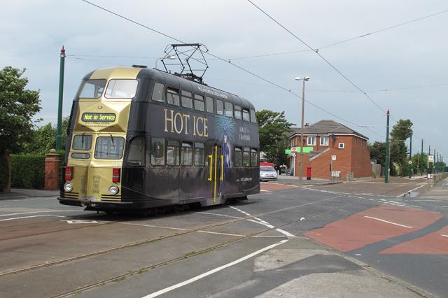 Tramway crossing, Broadwater, Fleetwood