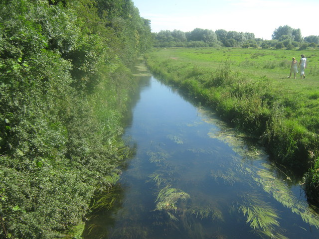 River Little Stour looking upstream