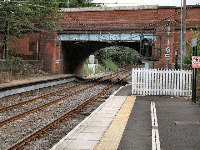 Crumpsall Station - Crumpsall Lane Bridge