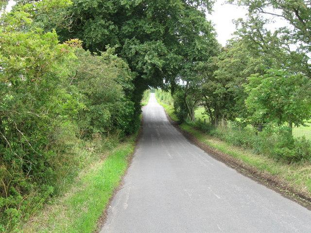 Country Lane towards B6413