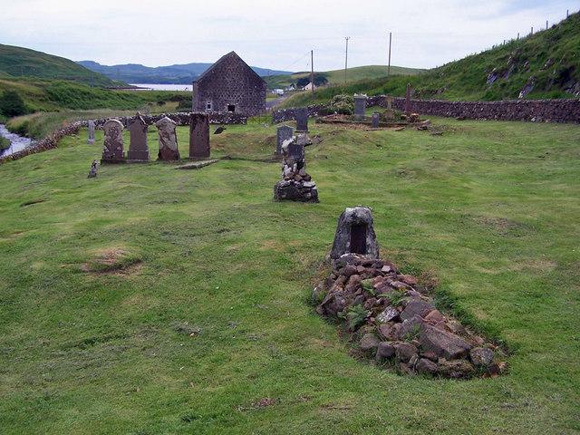 Ancient cemetery, Bracadale