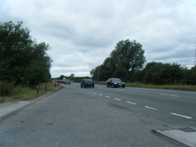 A500 looking west from lay-by