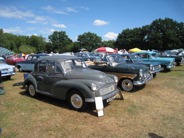 Morris Minor at Darling Buds Classic Car Show