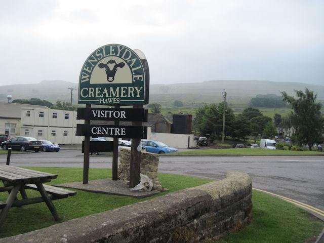 Wensleydale Creamery entrance