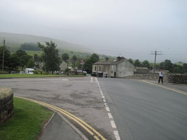Road past Creamery