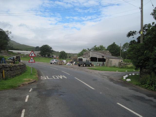 A684 through Appersett