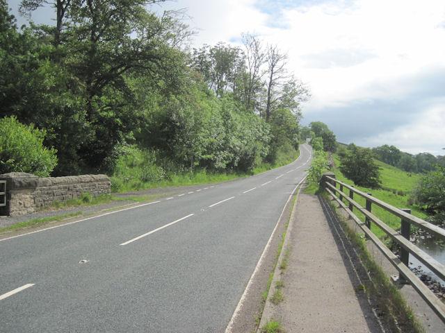 A684 from Thwaite Bridge