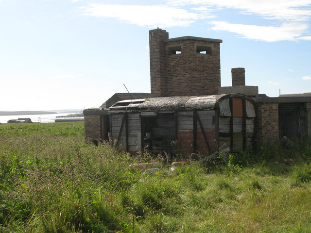 Disused military building near Lyness (2)