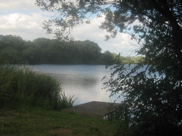 Fishing Lake near Seaton
