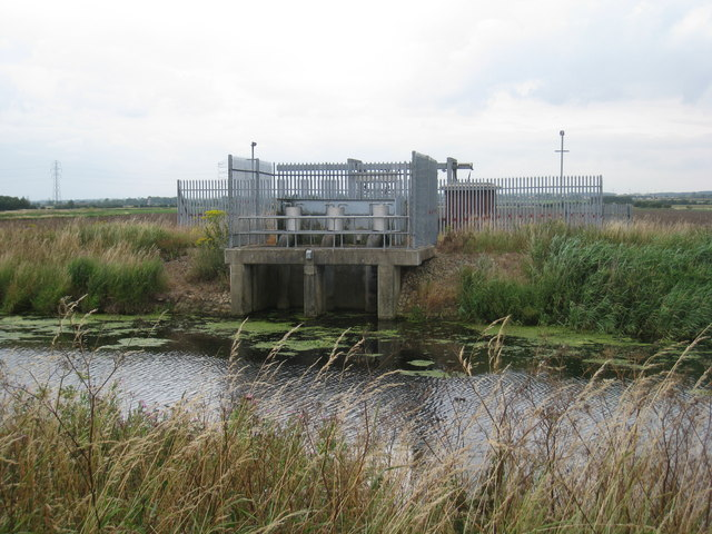 Pumping station near Sand Hills