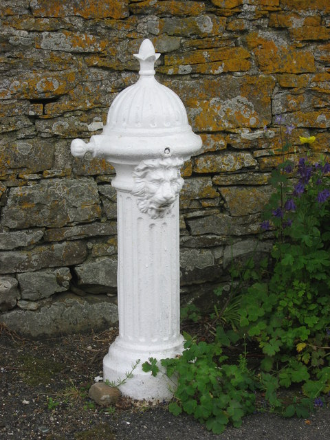19th C cast iron water hydrant, Latheronwheel