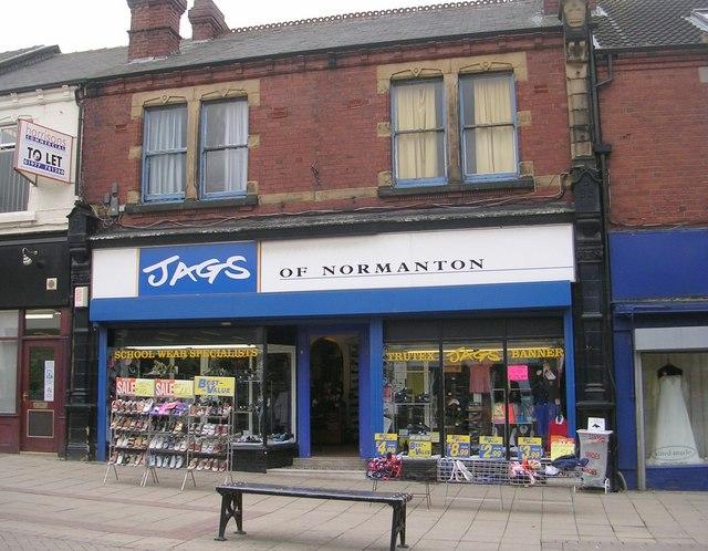 Jags of Normanton Schoolwear - High Street