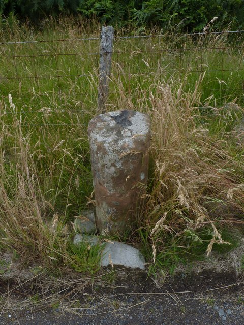 Milestone 38, Rubha Bàn, Isle of Arran