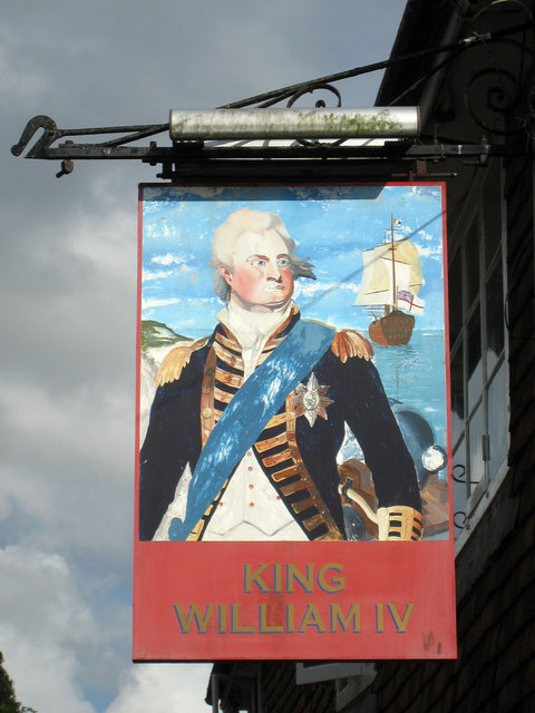King William IV sign
