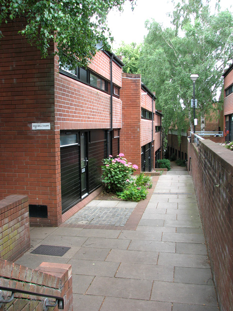 Ten Bell Court in Pottergate, Norwich