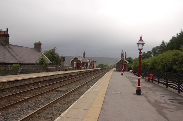 Garsdale station from the south