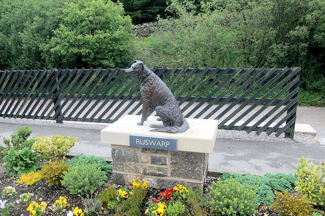 Ruswarp sculpture