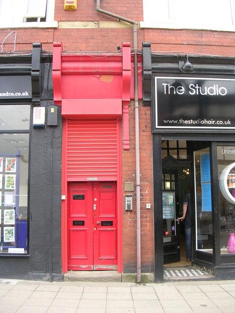 A Red Door - High Street