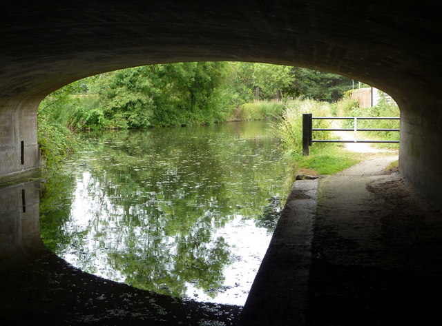 View from the canal road bridge