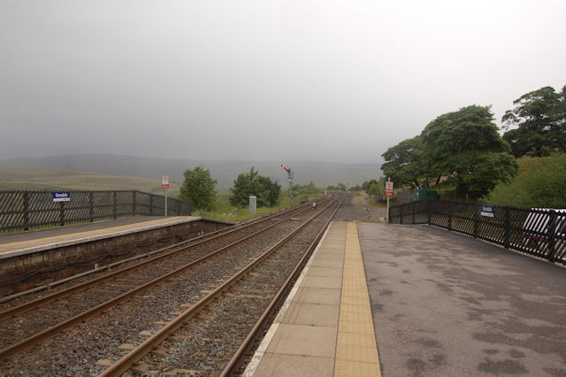 Railway north from Garsdale