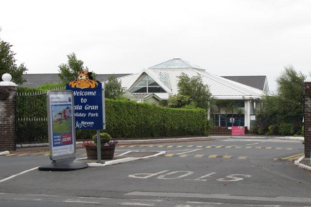 Entrance to The Cala Gran Holiday Park