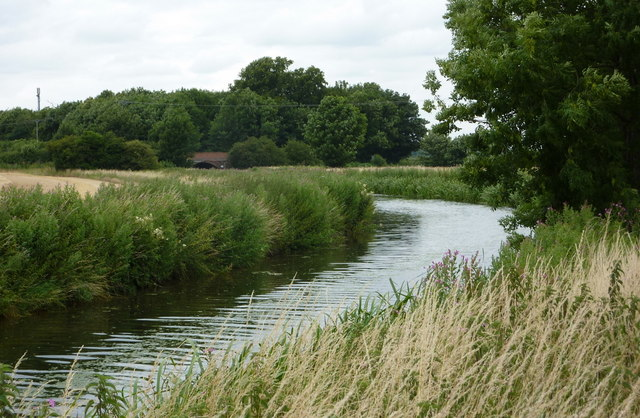 The Chesterfield canal west of Retford