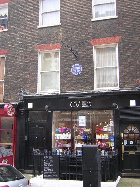 Marchmont Street, hairdresser's