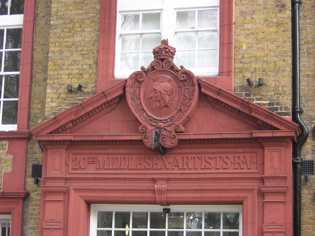 Duke's Road NW1: the Artists' Rifles drill-hall