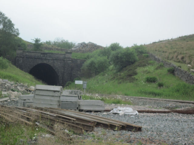 Shotlock Hill tunnel northern portal