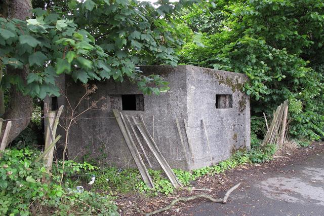 Second World War pillbox opposite Cala Gran Holiday Camp
