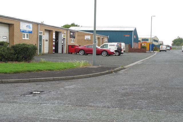Industrial Estate, Burn Naze, Thornton