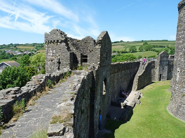 The Outer Wall, Kidwelly Castle