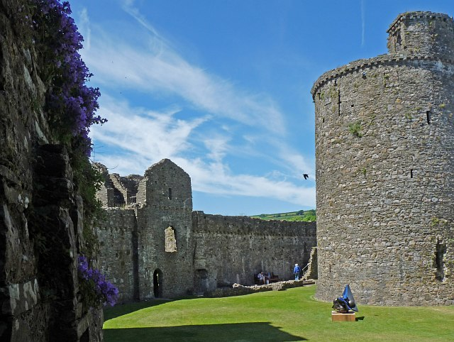 The Outer Ward, Kidwelly Castle