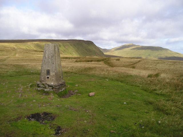 Twyn Mwyalchod, Trig Point