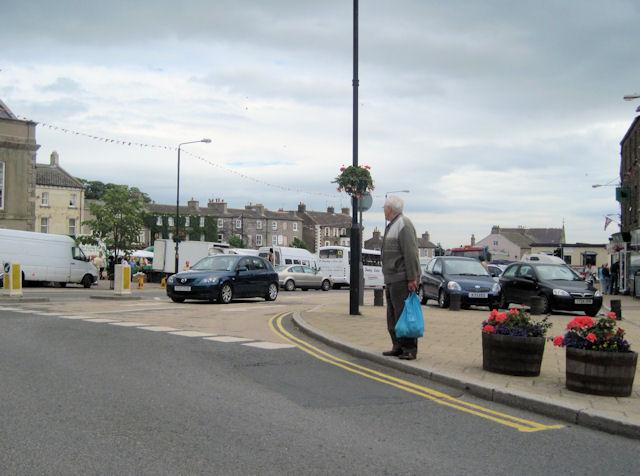 Leyburn road junction