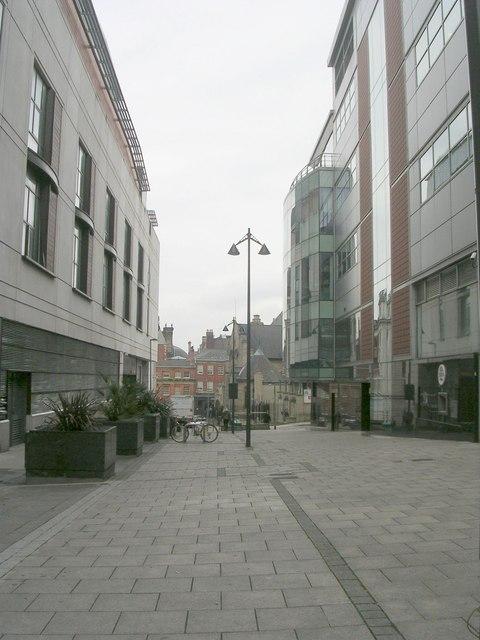 St Anne's Street - Albion Street