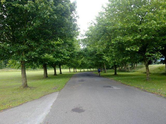 Avenue in Heaton Park