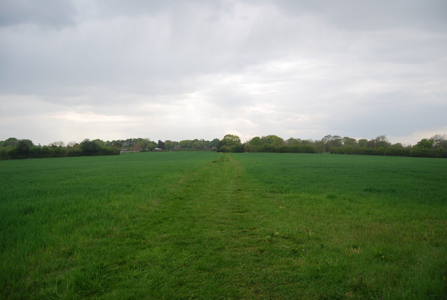 Sussex Ouse Valley Way west of Pegden