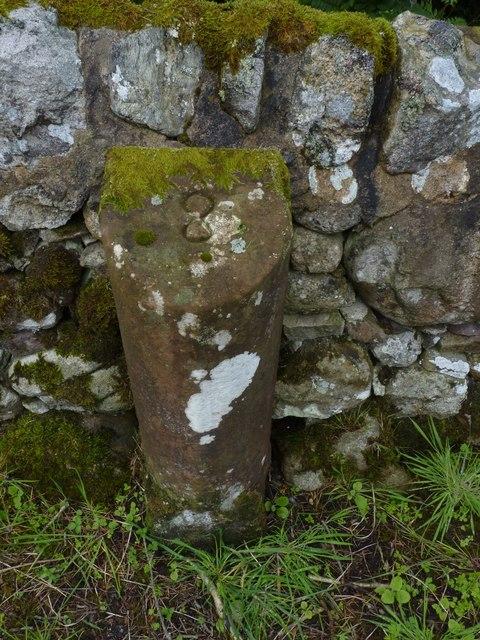 Milestone 8, near Machrie Farm, Isle of Arran