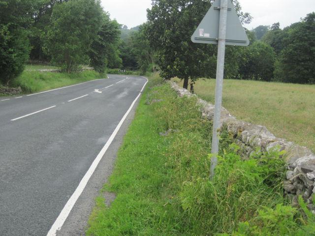 A684 near Hestholme Farm