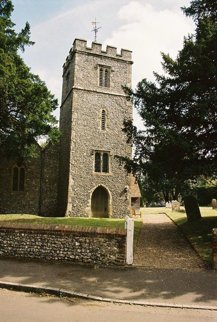 Church tower, St Giles, Wormshill