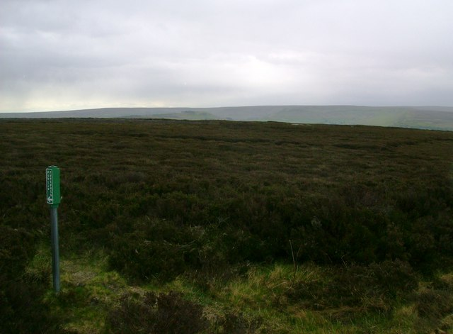 Footpath  over  the  moor  to  Houlsyke