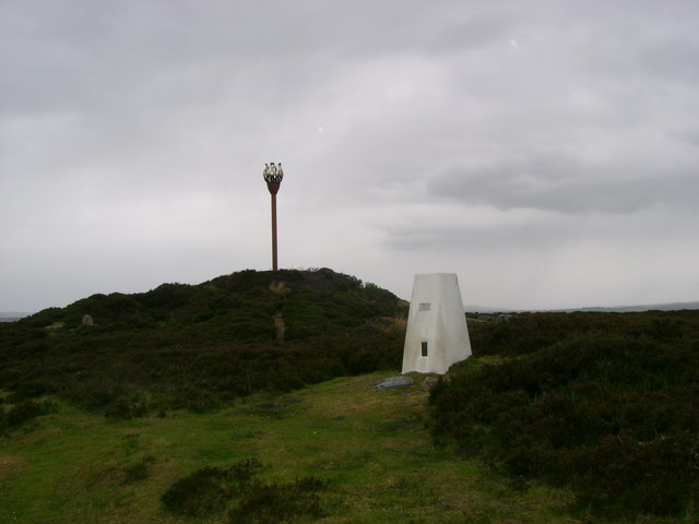 Danby  Beacon  and  Trig  Point