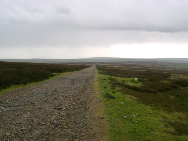 Stonegate  ( track )  over Lealholm  Moor