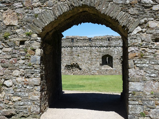 Gateway to the Inner Ward, Kidwelly Castle
