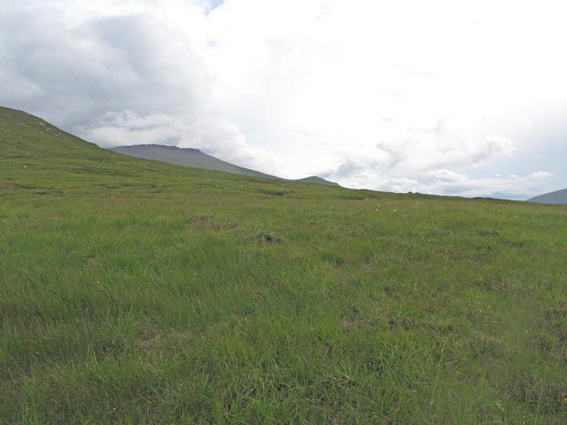 Slopes of Meall nan Cra