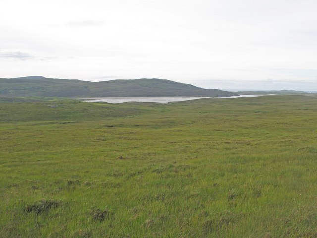 Moorland above the Kyle of Durness