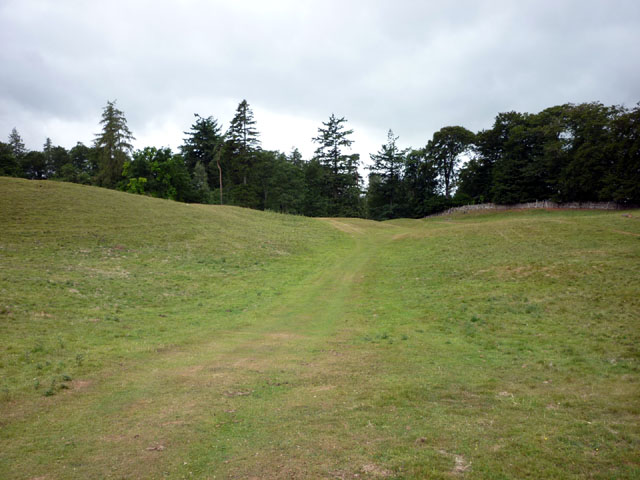 Footpath near Redmire Force