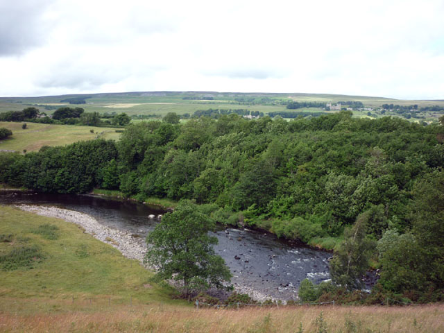 The River Ure near Middle Wood