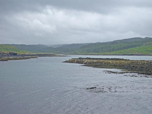 Loch Mingary viewed from Rubh an Laorin